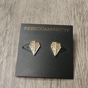 Rebecca Minkoff Crystal Pave Stud Earrings